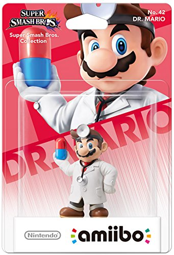 Dr. Mario amiibo - Europe/Australia Import (Super Smash Bros Series) (Mario Super Smash Bros Wii U)