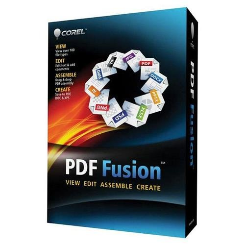 Corel PDF Fusion 1.11 Software (on USB Flash Drive) by Corel