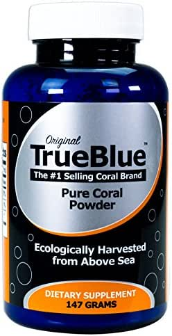 Premium Coral Calcium Supplement - Pure Coral Powder (147g) - from Okinawa Japan with 73 Vital Minerals and Elements - Contains Magnesium -70-Day Supply