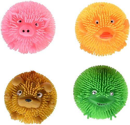 RIN Squishy Farm Critters - Box of 12 Animals