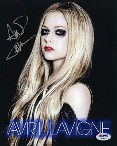 Avril Lavigne Signed 8x10 Photo Certified Authentic PSA/DNA COA