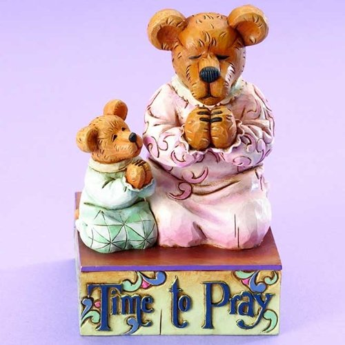 Boyd's Jim Shore Bears Momma Berrybless and Sweet Pea - Time to - Shore Boyds Jim