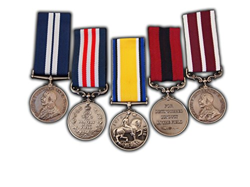 Full British Military Set 5x Medal | George V | Army Award for Raf Navy Para New Replica