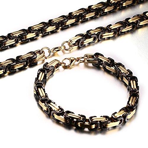 Stainless Mechanic Byzantine Bracelet Jewelry product image