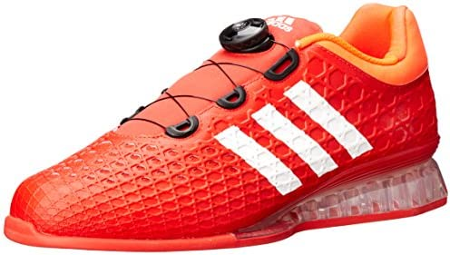 adidas Men's Leistung 16 Weightlifting Shoes, Red/White/Infrared ...