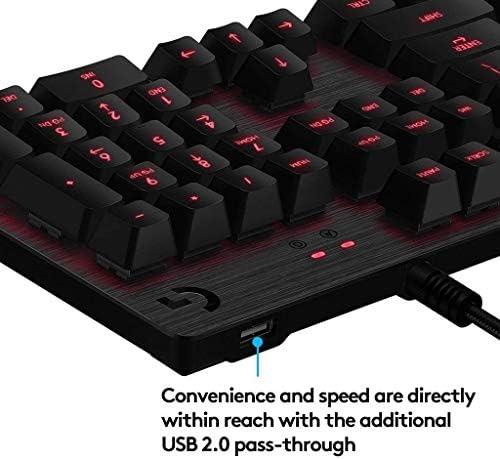 Logitech G - G413 - Teclado Mecánico con Iluminación para Gaming - Negro 9