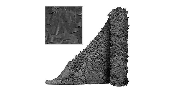 BAIYING Malla Sombra De Red Tela Oxford Selva Protector Solar Al Aire Libre Camuflaje Pérgola Coche Cubierta Sombra Cubrir, 9Tallas Personalizable (Color : Black, Size : 1.5x2m): Amazon.es: Hogar