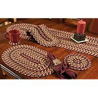 Checkerberry 4-1/2 Braided Coaster