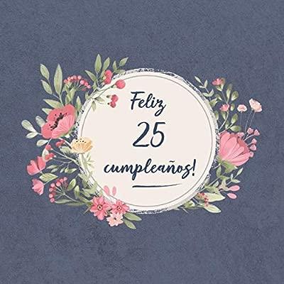 Feliz 25 Cumpleaños: El libro de firmas evento   Libro De ...