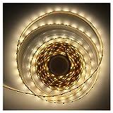Betolye DIY Home Decoration Led Strip - 16.4Ft Led Rope Lights 24V SMD3528 600Leds 48W Ra80 Non-waterproof 4000K 4000Lm