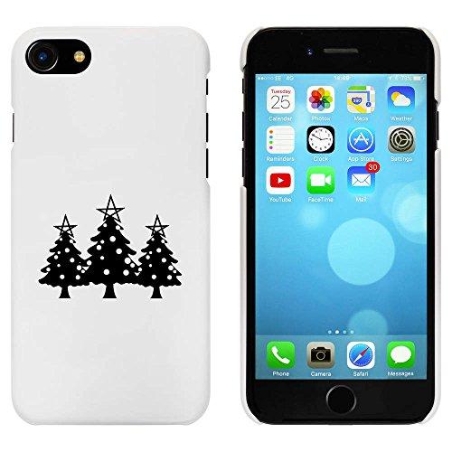 Blanc 'Arbres de Noël' étui / housse pour iPhone 7 (MC00067328)