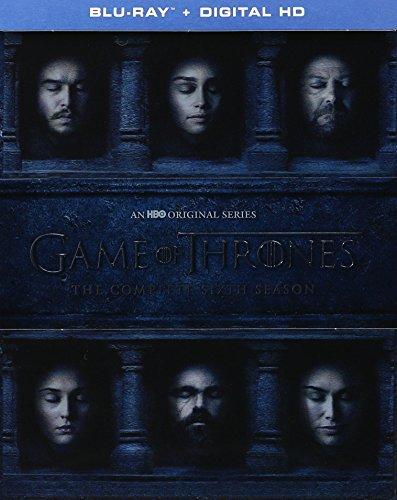 Game of Thrones: The Complete 6th Season | Exclusive Bonus Disc Behind-the-Scenes Look (Blu Ray + Digital HD)