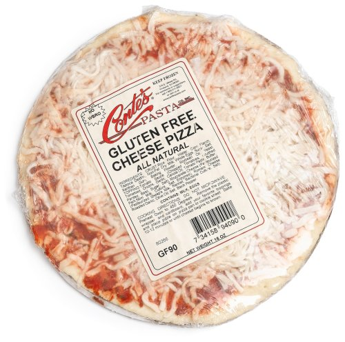 Conte's Gluten Free Cheese Pizza, 16-Ounce Pizzas (Pack of 3)
