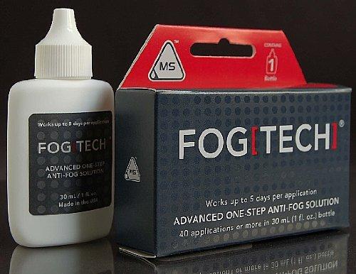 MotoSolutions FogTech Anti-Fog 30ml Bottle Paintball or Glas