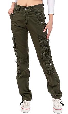 716fff691919 Brinny Vintage Cool d été Femme style militaire Cargo Shorts Sports de  combat Casual Pantalon