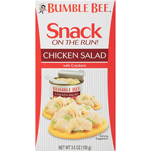 Bumble Bee Snack on the Run Chicken Salad with Crackers Kit, 3.5 Ounce (Pack of 12) - Bumble Bee Chicken Salad