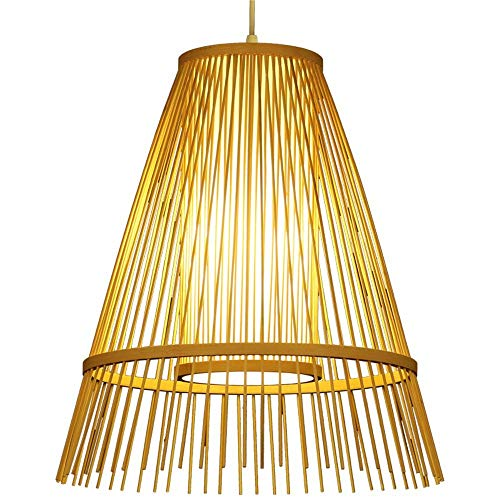 OVIIVO Creative Table Lamp Desk Lamp Pendant Light Simple Garden Chandelier Tea House Bamboo lamp Bedside Entrance Garden Using for Reading, Working by OVIIVO (Image #1)
