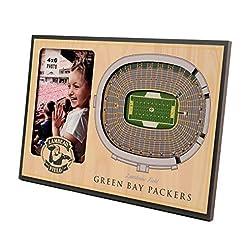 NFL Green Bay Packers 3D StadiumViews Pi...