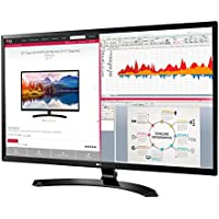 LG 32-Inch Full HD 1920 x 1080 IPS Professional Monitor (2018 Newest) with Display Port, HDMI, D-Sub, On-Screen Control, Screen Split 2.0, VESA Wall-Mount Compatible, Black
