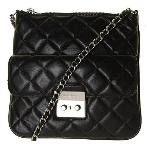 michael kors black quilted bag - 4