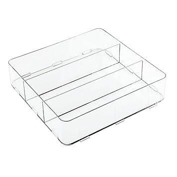 Idesign Clarity Schubladen Organizer Geraumige Aufbewahrungsbox Aus
