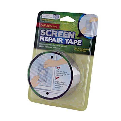 Window Screen Repair Tape- Repair Tears & Holes in Your Screen 2″ x 3′