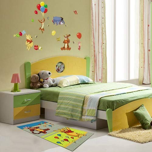 multicolor Wall Stickers Warehouse 781 Adhesivo para pared con dise/ño de Winnie The Pooh 60 x 90 cm