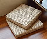 MIRUIKE Rattan Futon Cushion Thickened Square Yoga Mat Floor Cushion Chair Mat