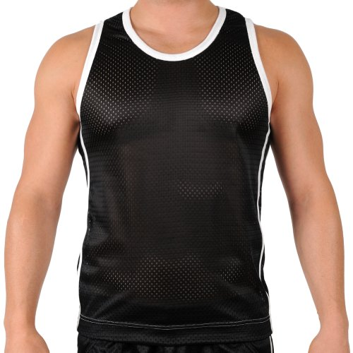 ad0ca13b002a53 85%OFF Mens Shiny Mesh Performance Athletic Workout Tank Top by Gary  Majdell Sport