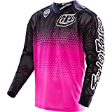 Troy Lee Designs SE Air Starburst Men's Off-Road Motorcycle Jersey - Pink/Black / Large