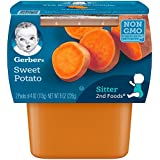 Gerber 2nd Foods Sweet Potatoes, 4 Ounce Tubs, 2 Count...