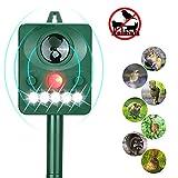 Best Animal Repellers - LANSONTECH Solar Animal Repeller, Humane Ultrasonic Pest Control Review