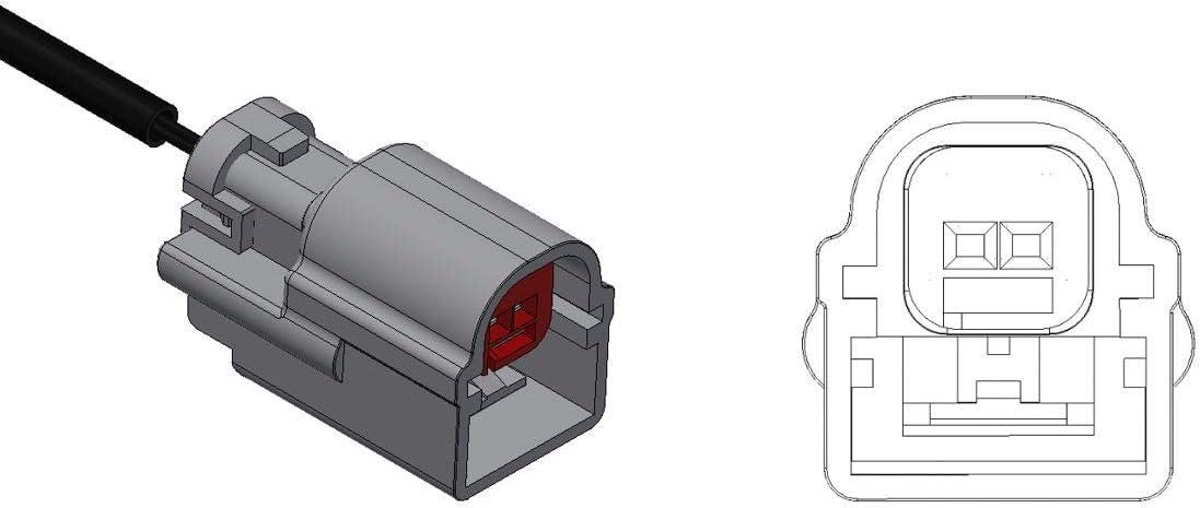 Auto Car Parts 1 St/ück Warnkontakt Verschlei/ßanzeiger Brake Wear Indicator Made in Germany