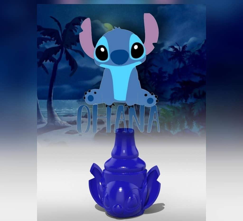 Boquillas Shisha Disney (stitch azul): Amazon.es: Salud y cuidado ...