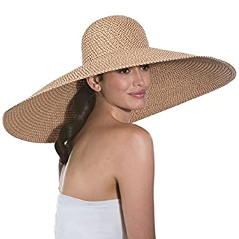 a5385e770c118 Amazon.com  Eric Javits Luxury Women s Designer Headwear Hat - Giant ...