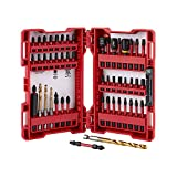 Milwaukee 48-32-4024 50-Piece Shockwave Impact Duty Drill and Drive Set w/ Torx, Phillips, Square, Slotted Insert and Power Bits