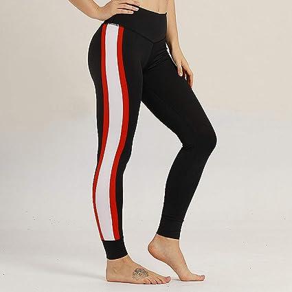WHFDDDK Pantalones de Yoga Cintura Alta Leggings sin ...