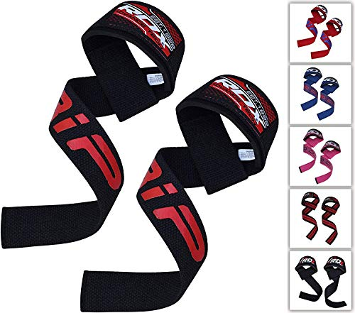 RDX Lifting Straps Bodybuilding Wrist Bandage Strength Training Fitness Weight Lifting Pull Up Hook Straps