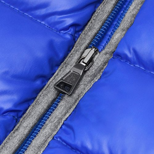 f3a671128 モンクレール) MONCLER フード付 ダウンジャケット REMBRANDT ブルー 8A ...