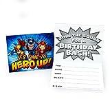 Marvel Super Hero Squad Invitations (8 count), Health Care Stuffs