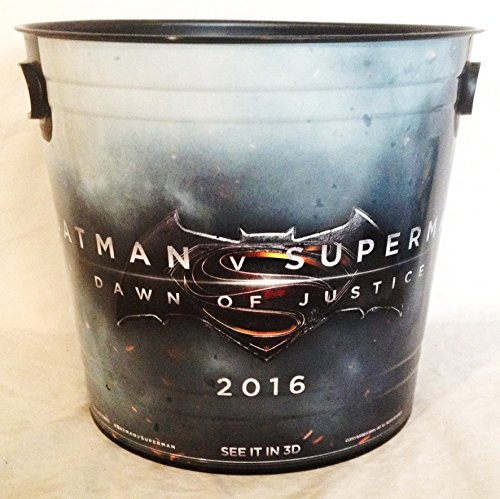 Batman vs Superman: Dawn of Justice Movie Theater Exclusive 200 oz Plastic Popcorn Tub