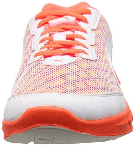 Zapatillas de running Puma Ignite Multi último de Wn White/Fluorescent Peach