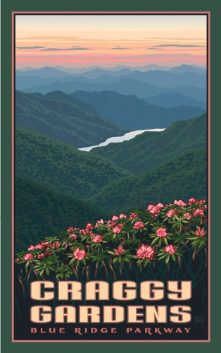 Northwest Art Mall Blue Ridge Parkway Craggy Gardens North Carolina Wall Art by Paul Leighton, 11 by - Park Mall Garden State