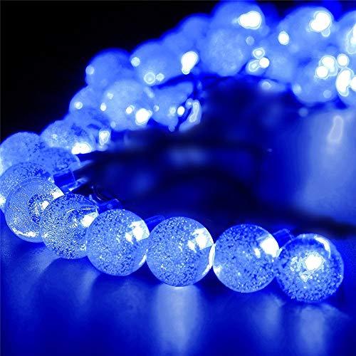 Bubble Ball Solar LED String Lights, Elevin(TM) Outdoor String Lights Patio Party Yard Garden Wedding 20 Solar Powered LED Bulbs (A)
