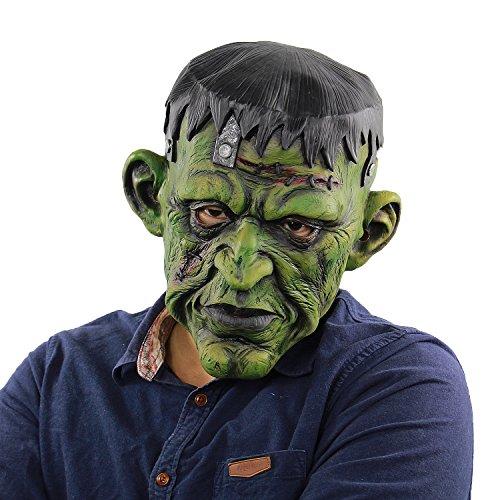 Deluxe Horror Devil Masks Halloween Costume Party Latex Freak Head Mask -