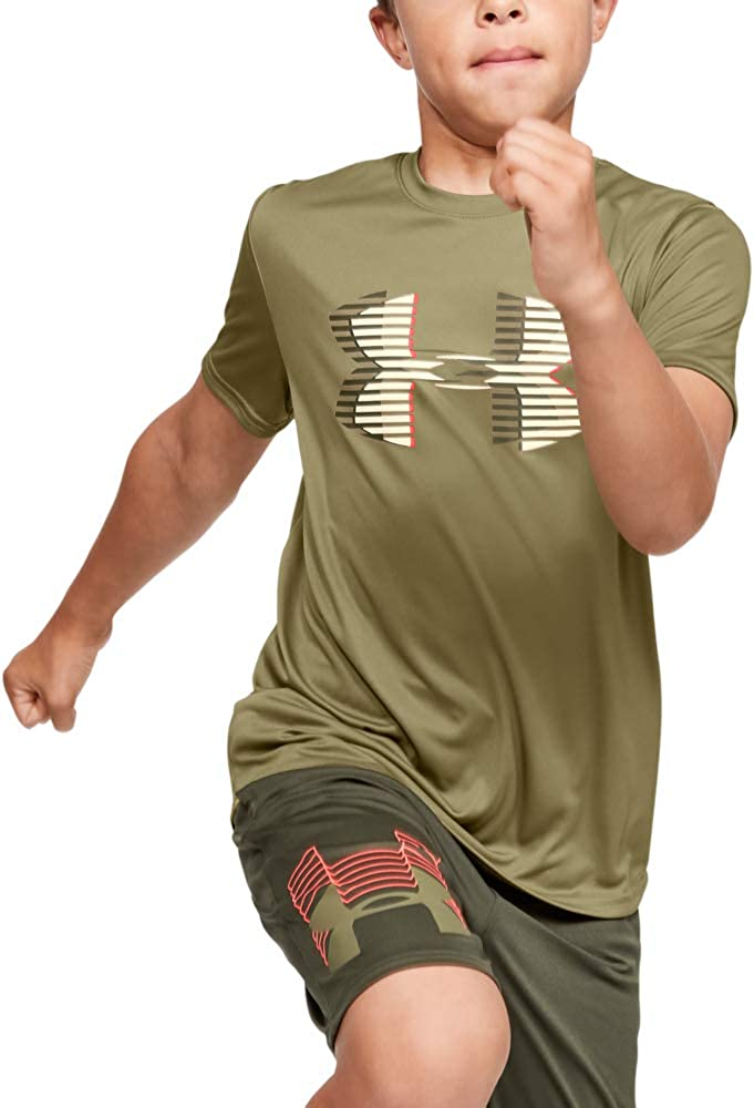 Under Armour UNDKU Tech Big Logo Solid Camisa Manga Corta Ni/ños