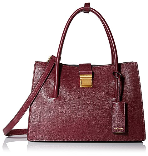 Miu-Miu-Womens-Leather-Satchel-NeroAmaranto