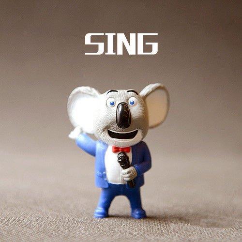 Happy Meal Sing Movie Toy Moon Koala Bear Figure