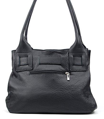 OH MY BAG NOODY - Bolso cruzados de Piel para mujer taglia unica negro