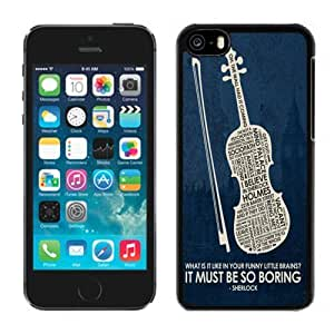 Lovely Iphone 5c Case Design with Design in Sherlock Black Phone Case for Iphone 5c Generation